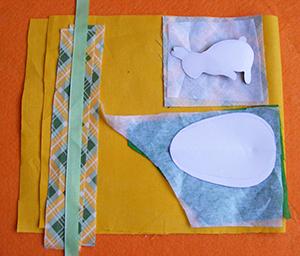 húsvéti dekoráció készítése