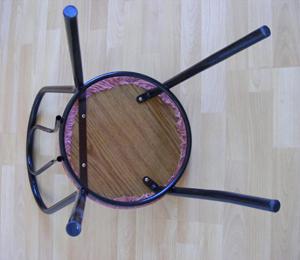 varróház szék újrakárpitozása sajátkezüleg