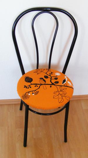 szék bevonása új anyaggal